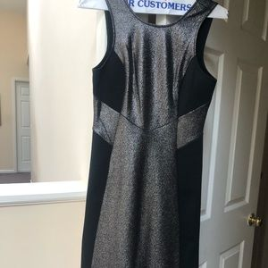 LBD with silver details. BCBG size 8. Never worn